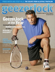 Racquetball Photo: Ruben Gonzalez Named Geezer Jock of the Year