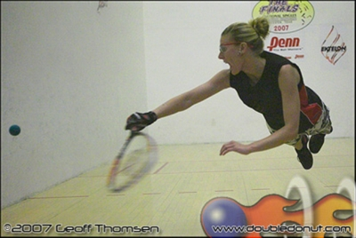 Racquetball Photo: Photos   2007 National Singles